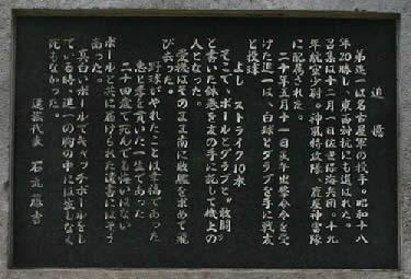 鎮魂の副碑(ちんこんのふくひ)