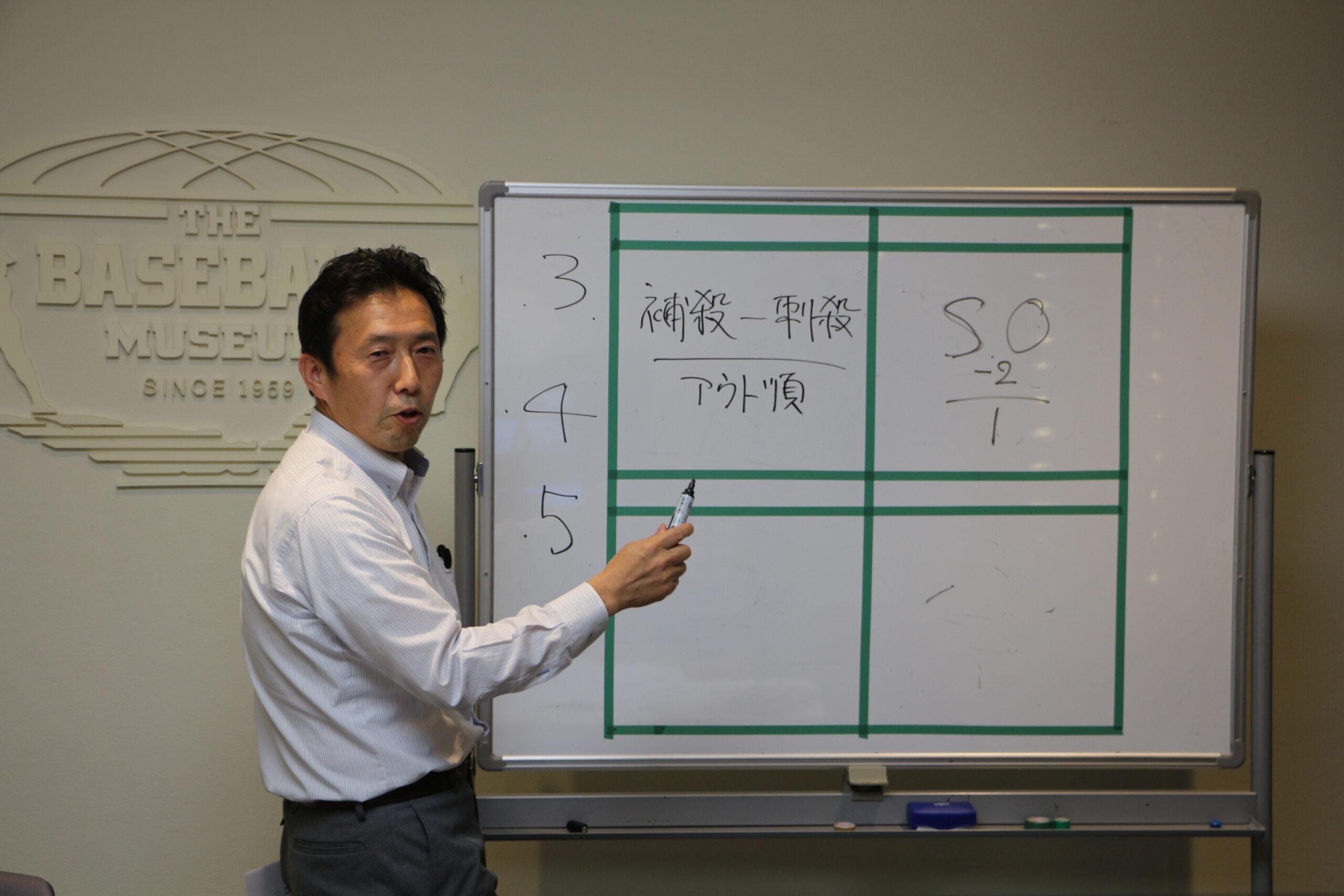 公式記録員が教える「NPB式スコアの付け方」教室 初級編